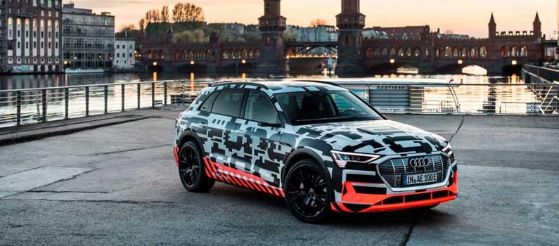 Audi e-tron, el primero modelo 100% eléctrico de Audi