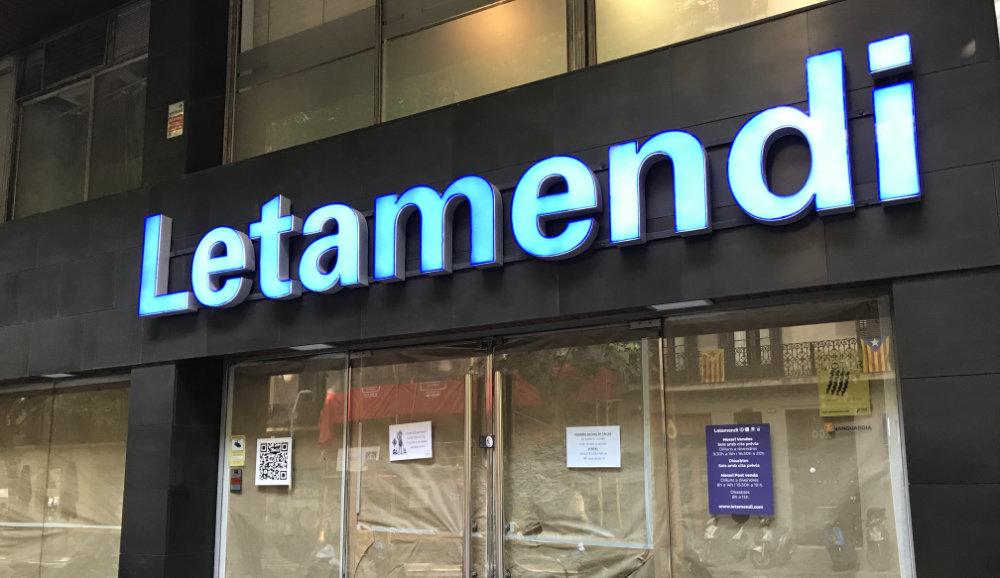 Iniciamos las obras de renovación en la tienda de Letamendi
